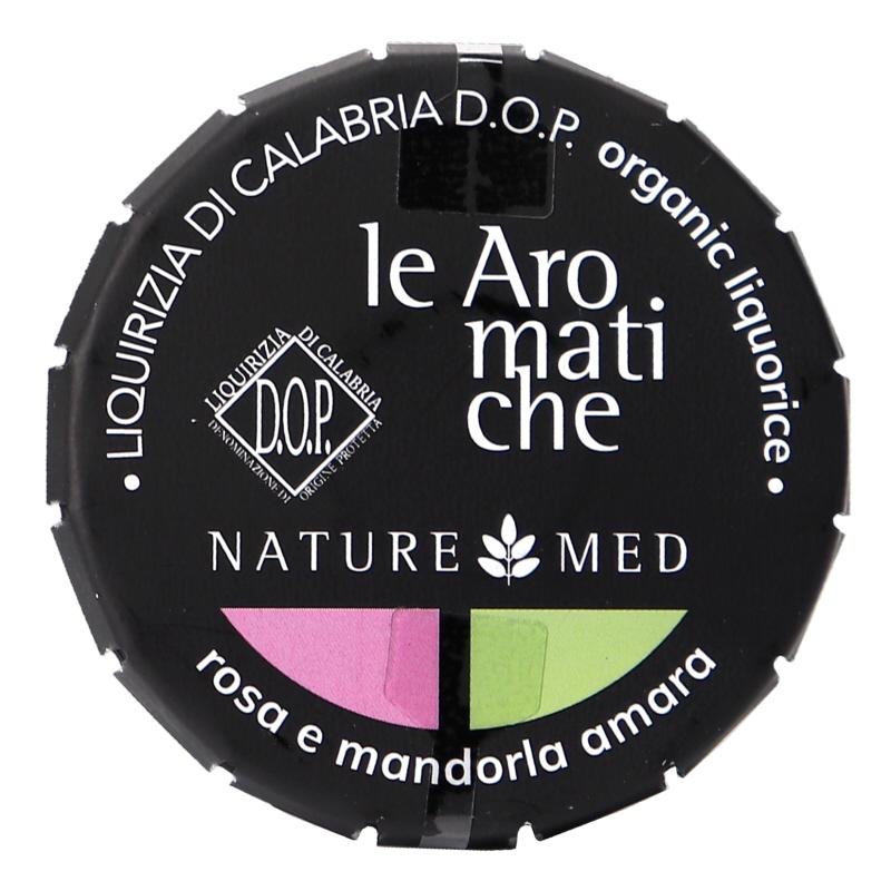 Eko Lakritspastiller Ros & Bittermandel - 39% rabatt