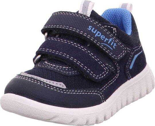 Superfit Sport7 Mini Sneaker, Blue, 21