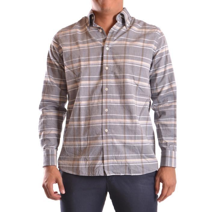 Gant Men's Shirt Grey 186614 - grey M