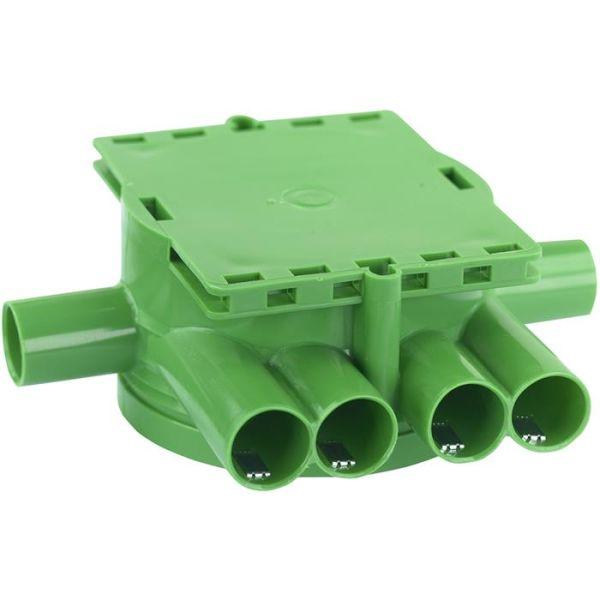 Gelia 1426034-2 Kytkentärasia vihreä, yksinkertaiselle kipsille, sis. lukitusjousen