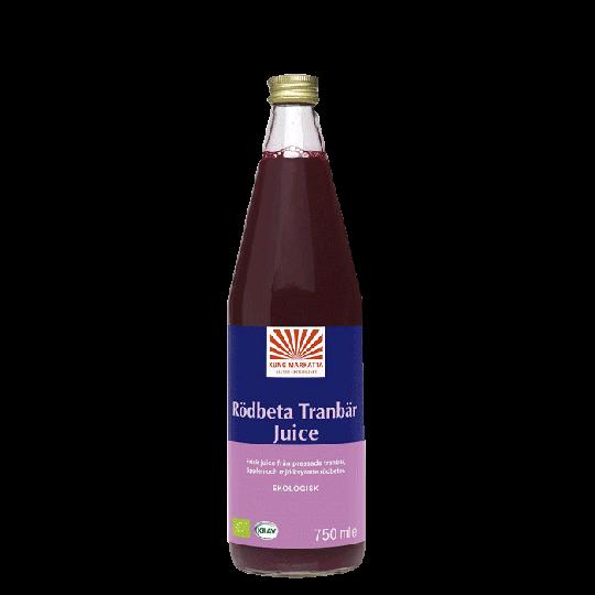 Rödbetjuice Tranbär, 750 ml