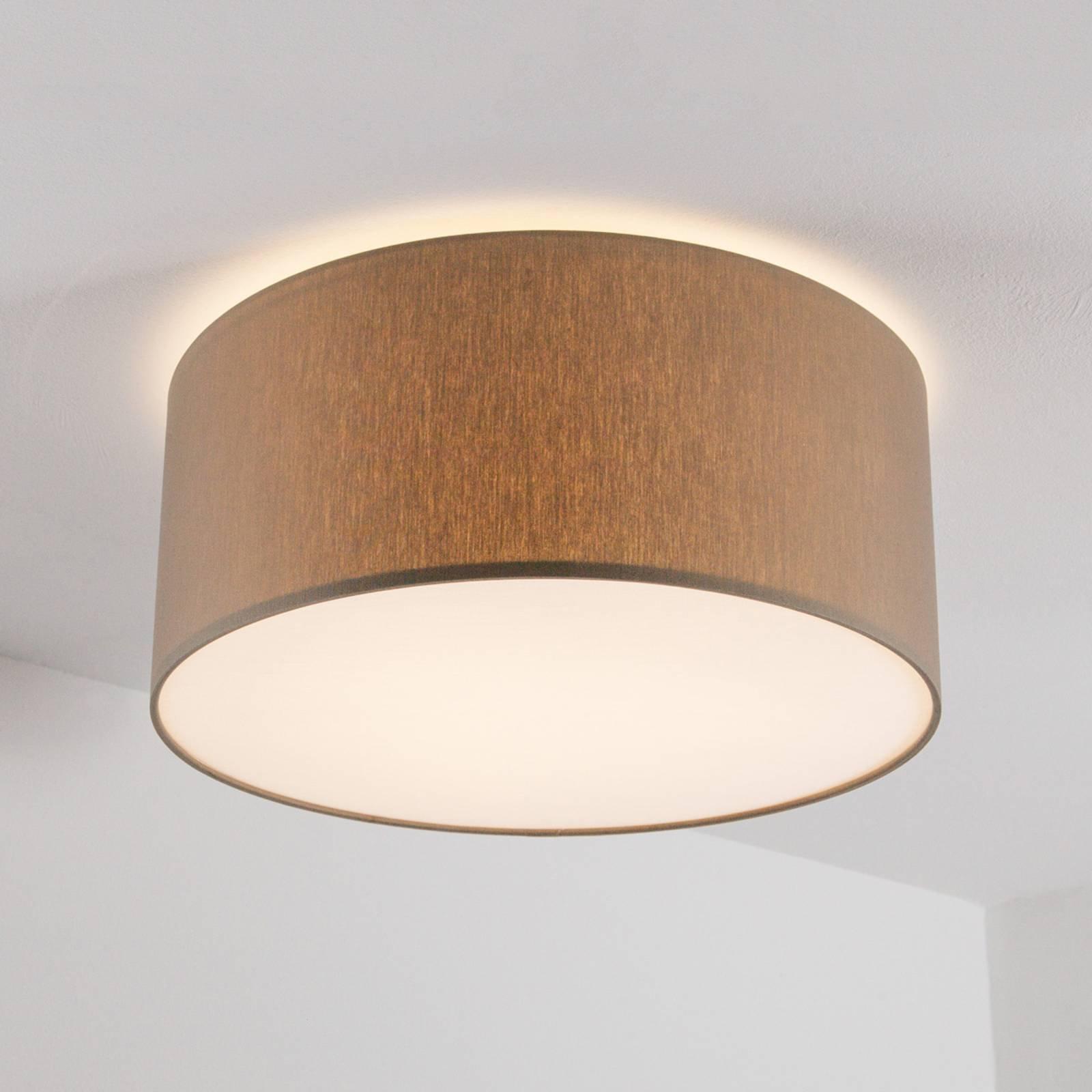 Gråbrun taklampe Mara, 40 cm