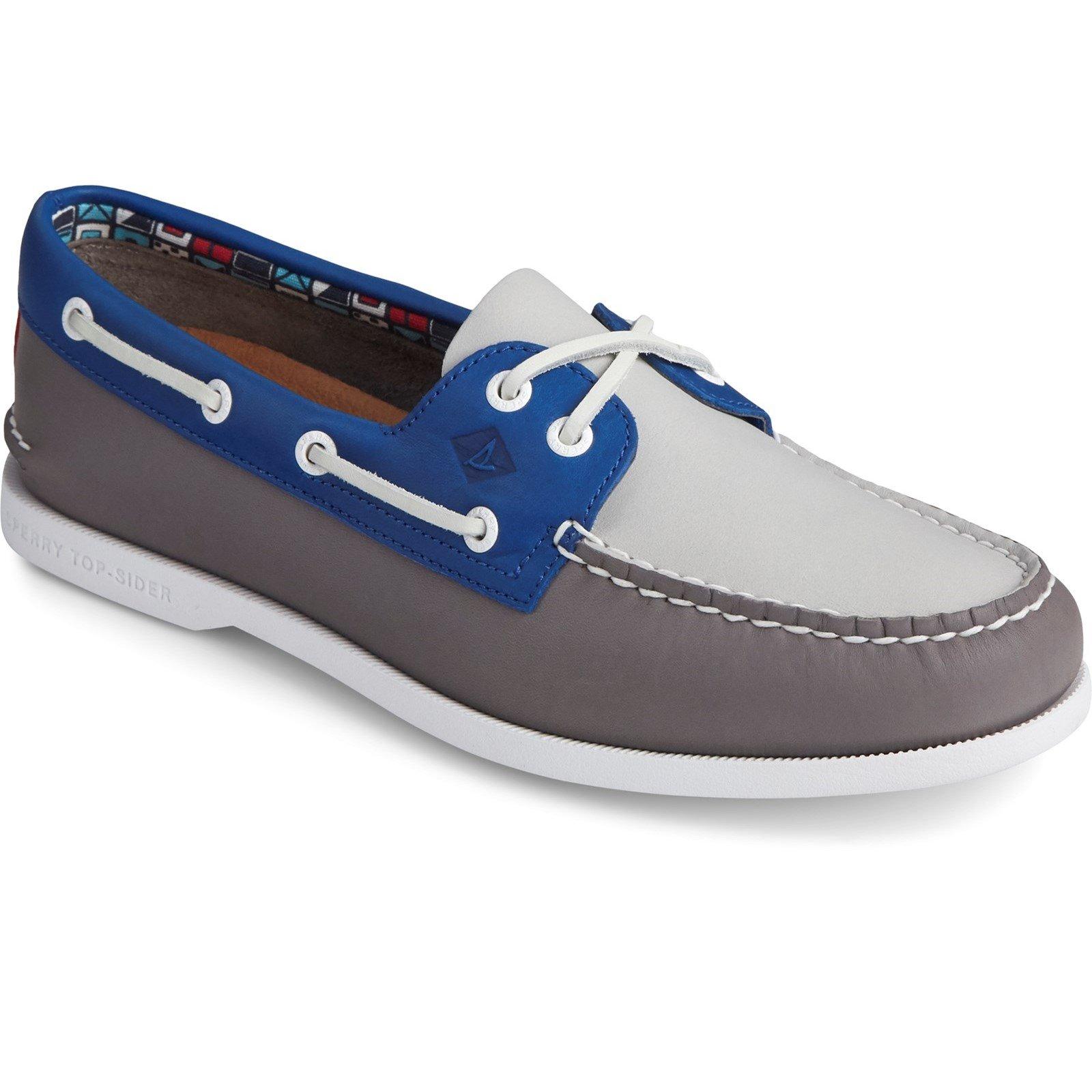 Sperry Men's Authentic Original PLUSHWAVE Boat Shoe Various Colours 31732 - Grey Multi 11