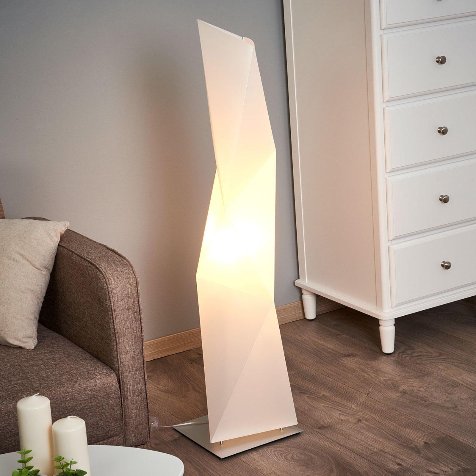 Designer-stålampe Diamond 111 cm