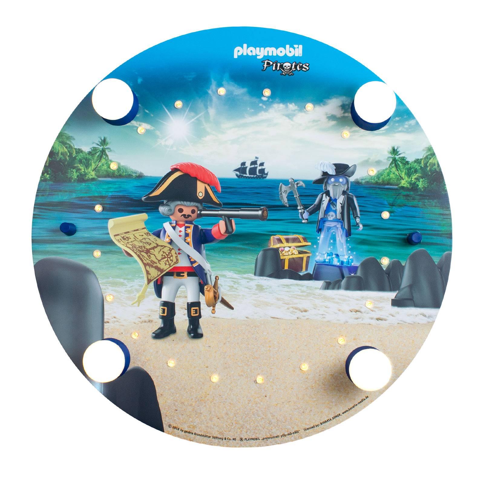 Kattovalaisin PLAYMOBIL Pirates, pyöreä