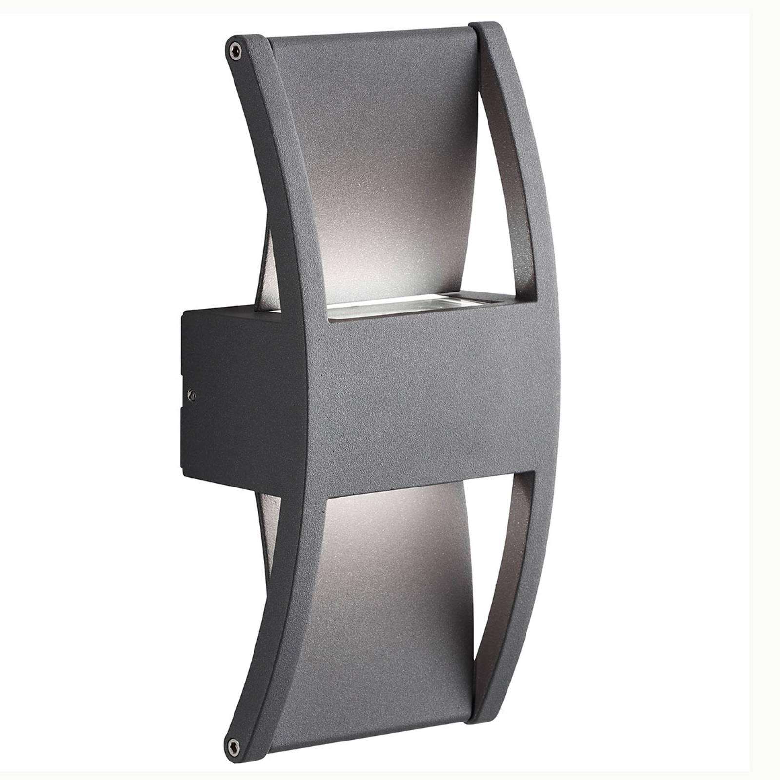 AEG Elroy -LED-ulkoseinälamppu alumiinia