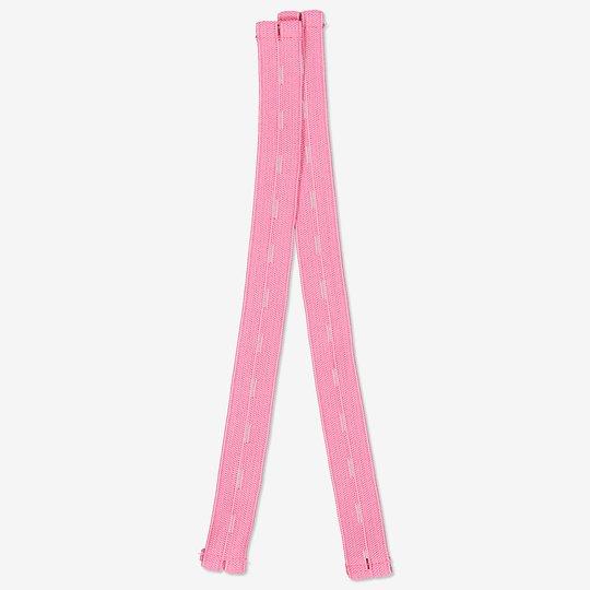 Fotstrikk i forskjellige farger rosa
