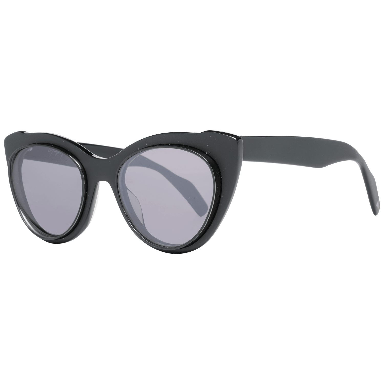 Yohji Yamamoto Women's Sunglasses Black YY7021 52002