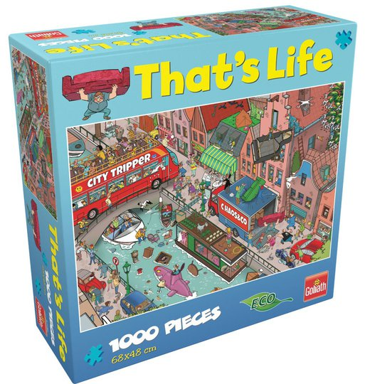 Goliath Games Puslespill That's Life - Moving 1000 Brikker