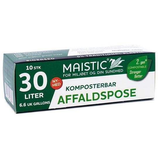 Maistic Komposterbar Avfallspåse - 30 L, 10-pack