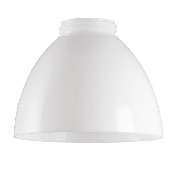 Ifö Electric B10006 Plastkuppel opal, plass, 180° Ø 175 mm