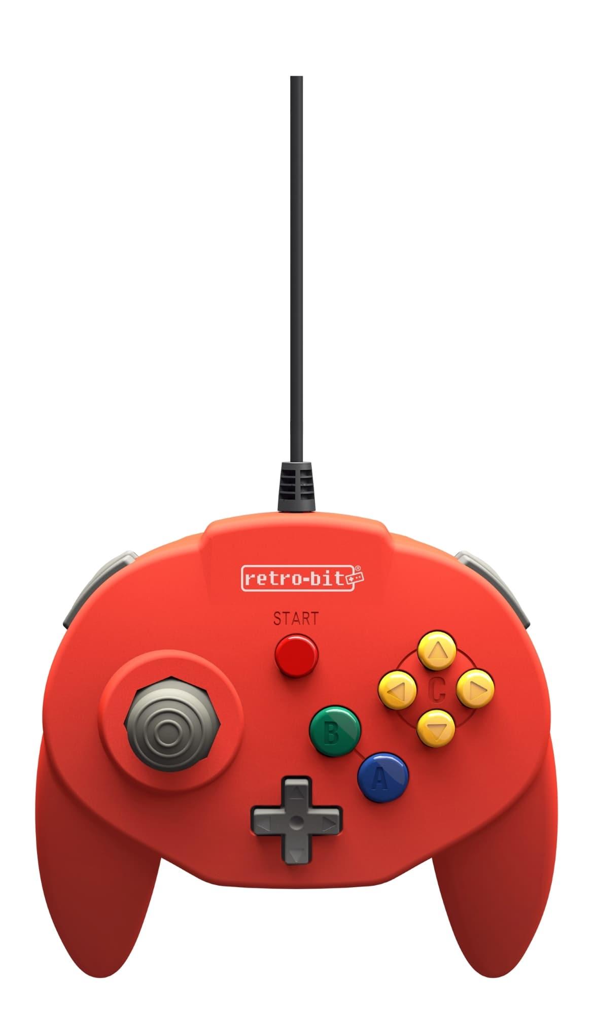 Retro-Bit Tribute 64 USB (Red)