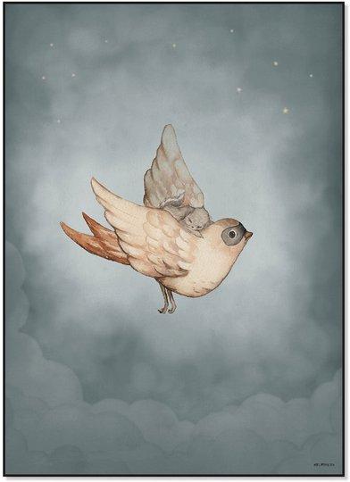Mrs Mighetto Plakat Dear Sparrow 50x70
