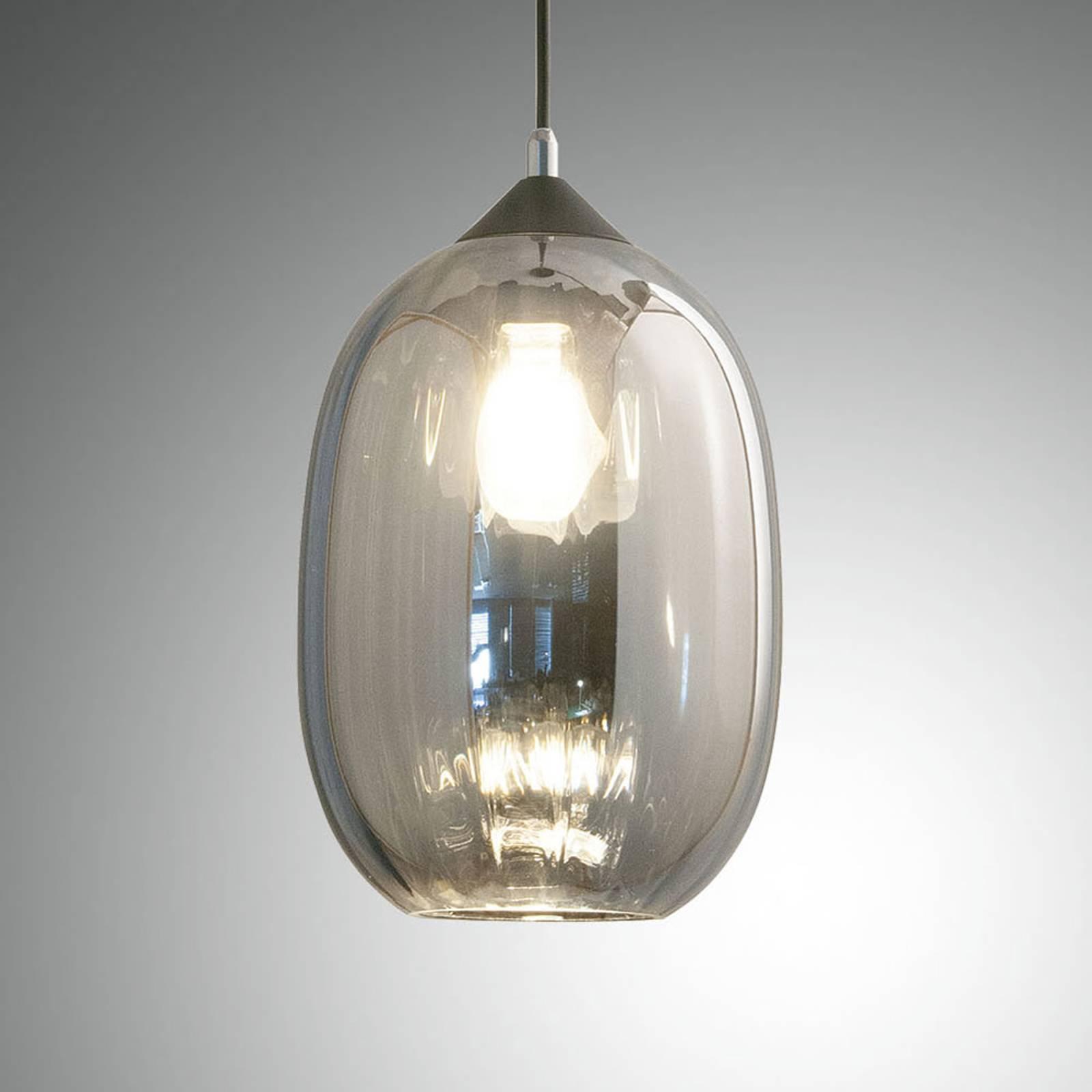 Riippuvalo Infinity lasia, 1-lamppuinen, Ø 20 cm