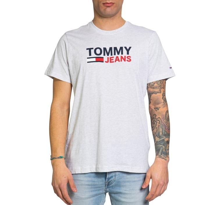 Tommy Hilfiger Jeans Men's T-Shirt Grey 203531 - grey XL