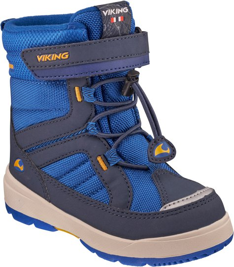 Viking Playtime GTX Sko, Blue/Sun 20
