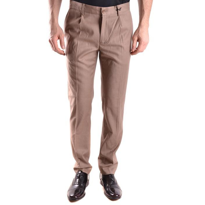 Daniele Alessandrini Men's Trouser Brown 163119 - brown 46