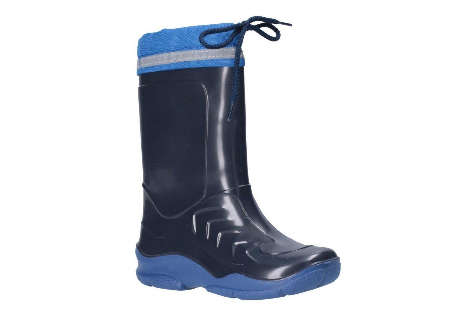 Cotswold Kid Splash Wellington Boot Various Colours 20815 - Blue 6.5