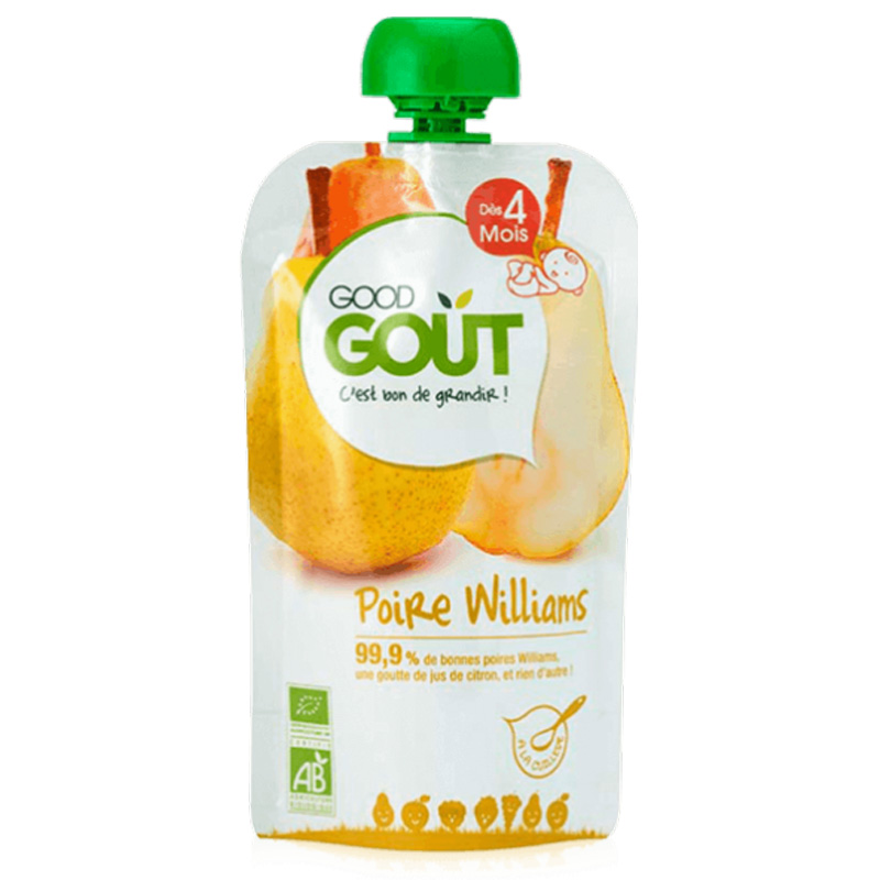 Eko Fruktpuré Päron - 19% rabatt