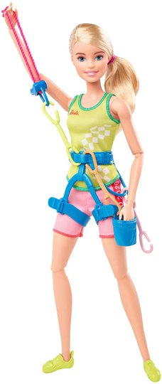 Barbie Olympics Dukke Sport Climber