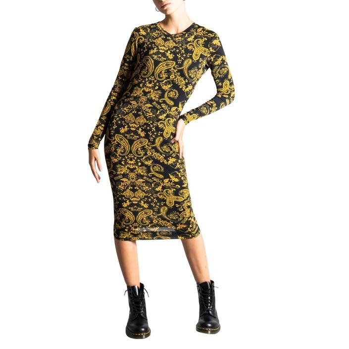 Versace Jeans Couture Women's Dress Black 322108 - black 44