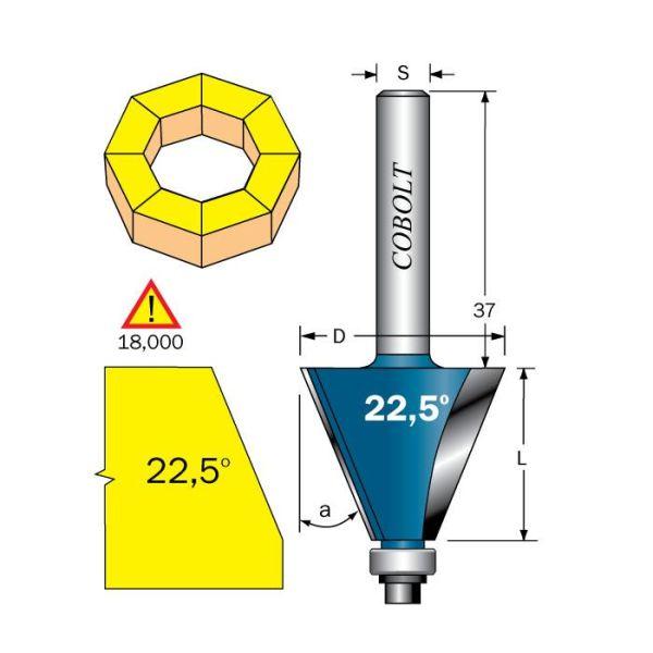 Cobolt 208-225B Viisteytysjyrsin F=28