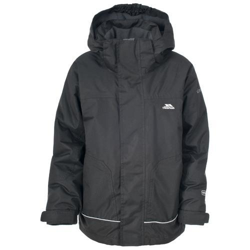 Trespass Kid's Jacket Various Colours Cornell - Black 2 to 3 Years