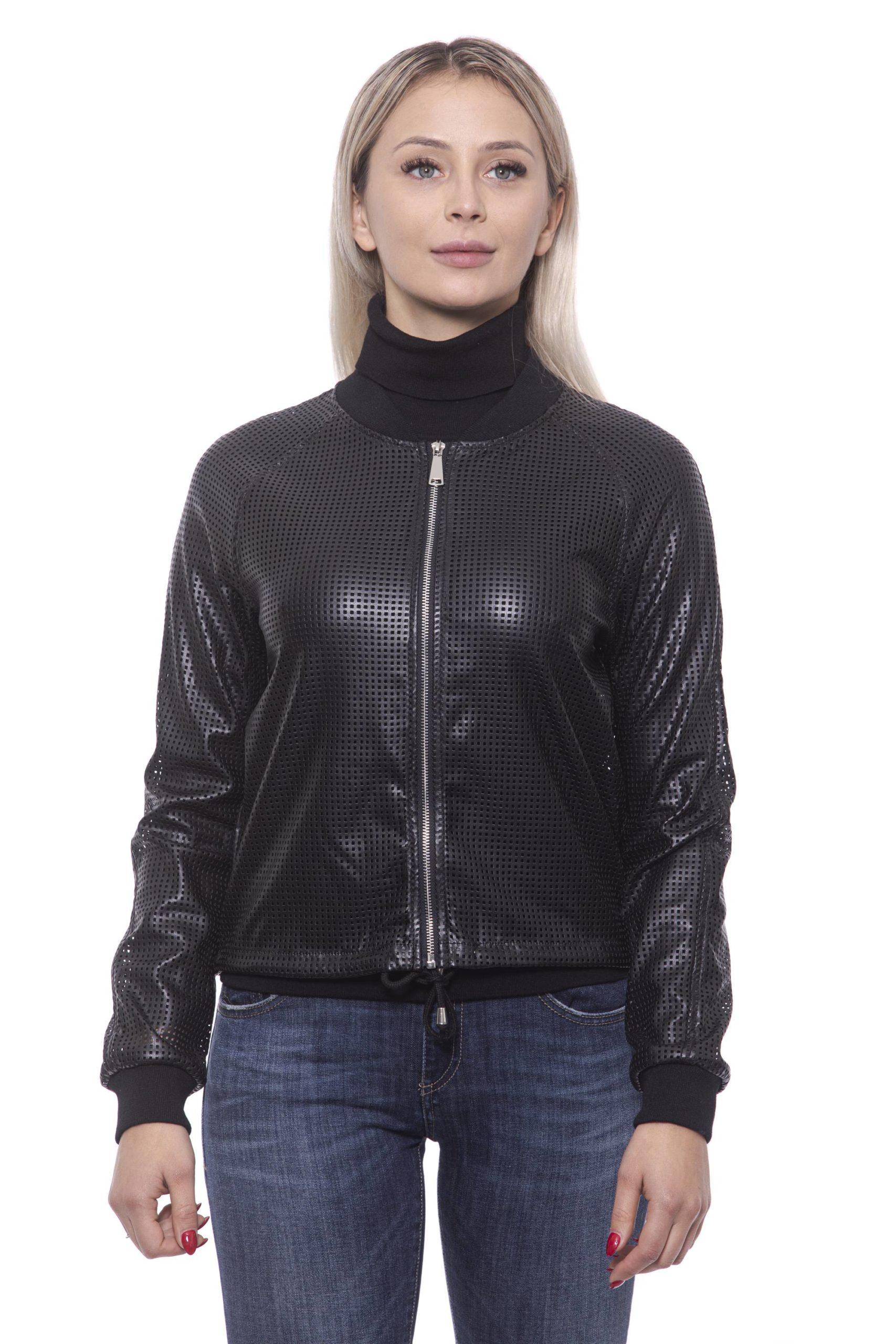19V69 Italia Women's Nero Jacket 191388299 - IT42 | S