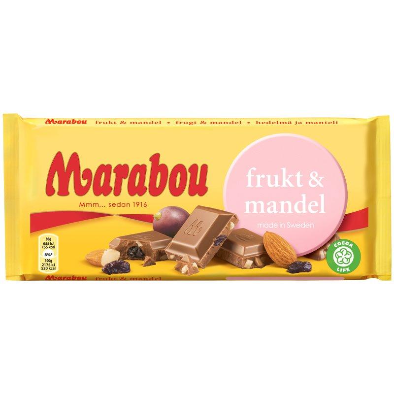 Marabou Frukt & Mandel - 54% rabatt