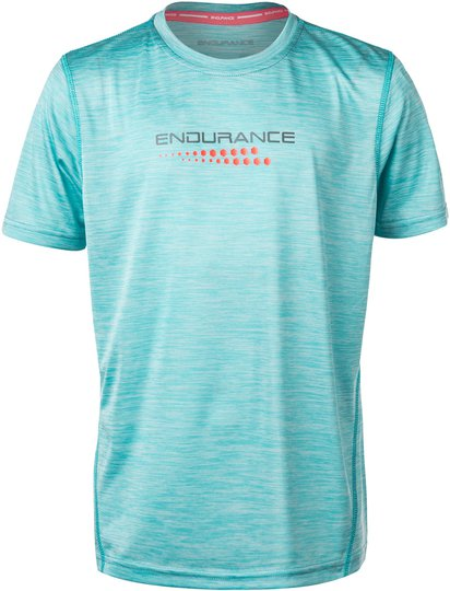 Endurance Dolyn T-Shirt, Blue Topaz 6 år