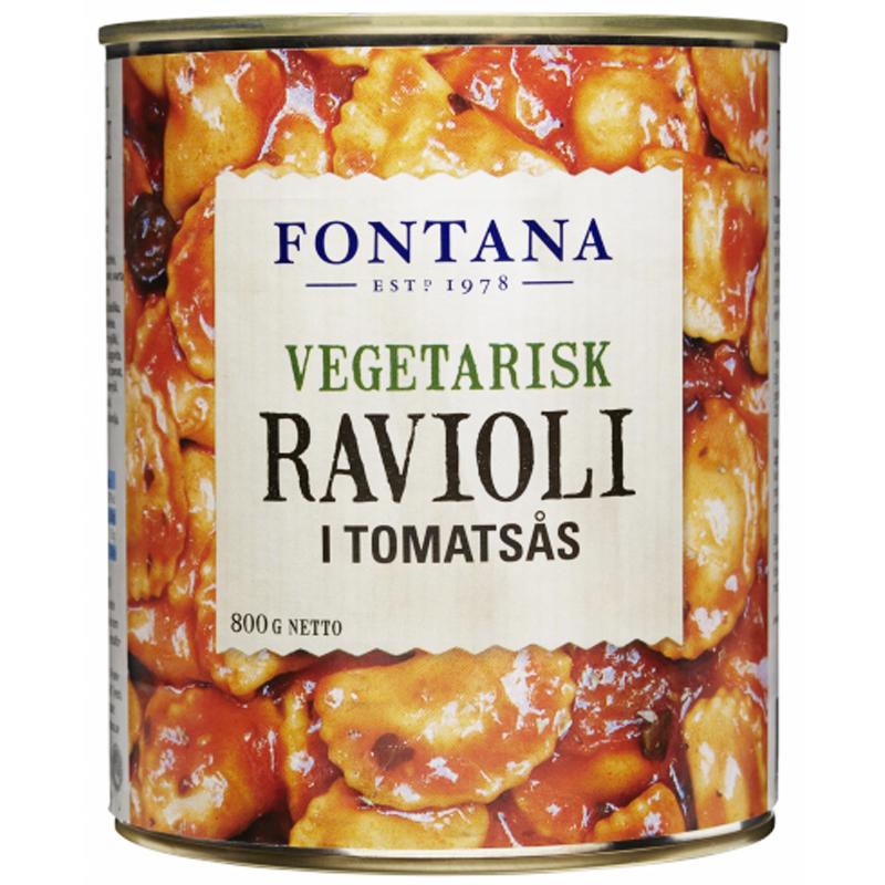 Ravioli Vegetarisk 800g - 17% rabatt