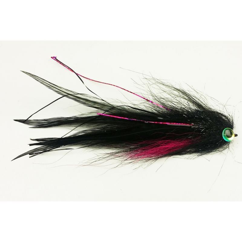Bauer Pike Deceiver #4/0 Midnight Black Kvalitetsfluer fra kjente leverandører