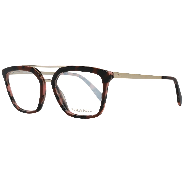 Emilio Pucci Women's Optical Frames Eyewear Brown EP5071 52050