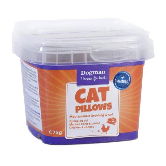 Dogman Cat Pillows Kyckling & Ost 75 g
