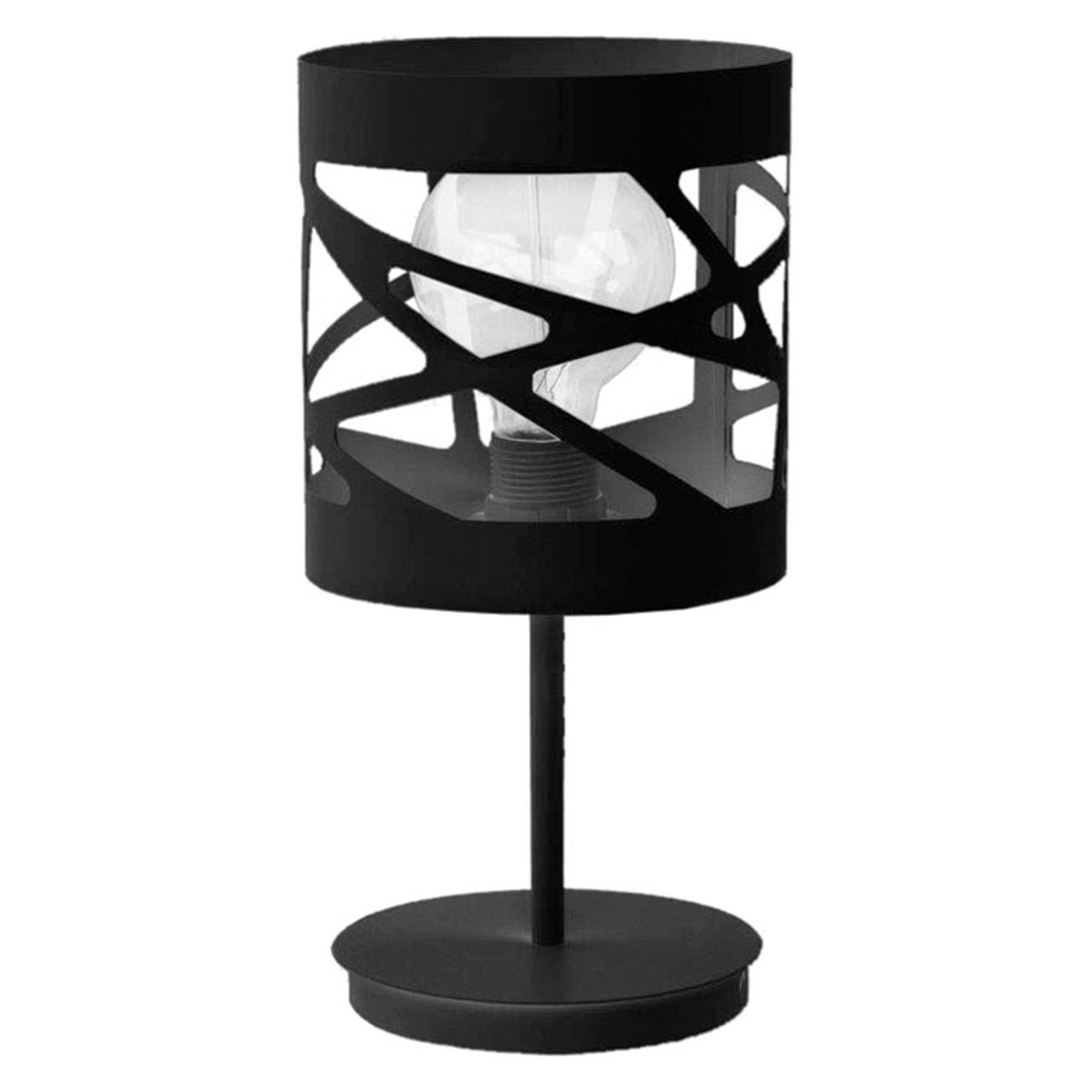 Bordlampe Modul Frez mønsterskjerm Ø17,5cm svart