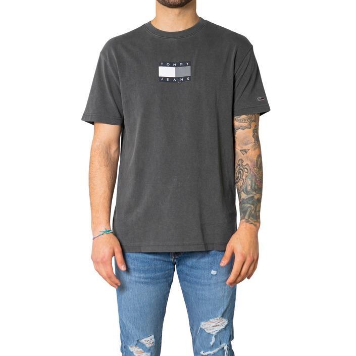 Tommy Hilfiger Jeans Men's T-Shirt Grey 248680 - grey S