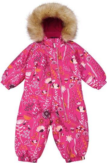 Reimatec Lappi Vinterdress, Raspberry Pink, 74