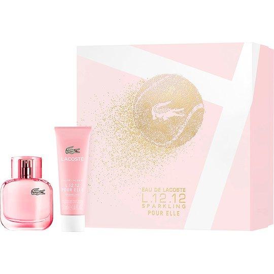 L.12.12 Pour Elle Sparkling Gift Set, Lacoste Naisten lahjapakkaukset