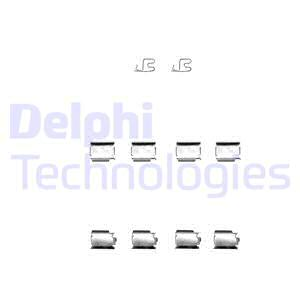 Tarvikesarja, jarrupala DELPHI LX0343