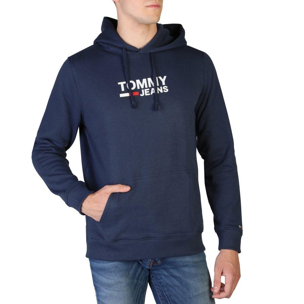 Tommy Hilfiger Men's Sweatshirt Blue DM0DM07588 - blue L