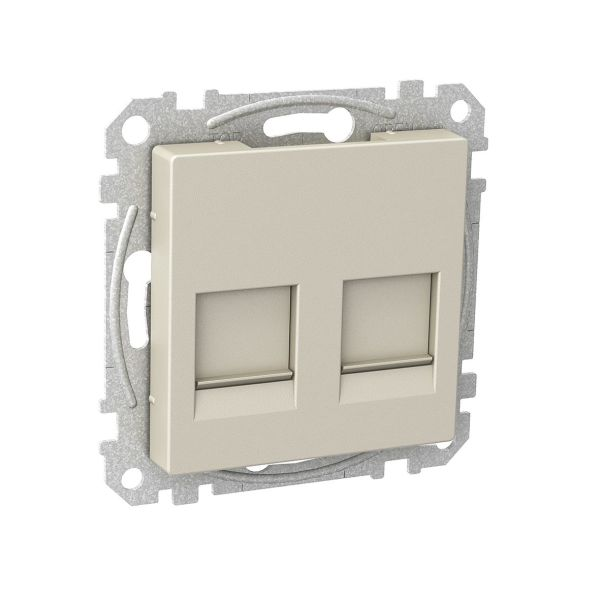 Schneider Electric WDE004379 Midtplate flat hullbilde Metallic