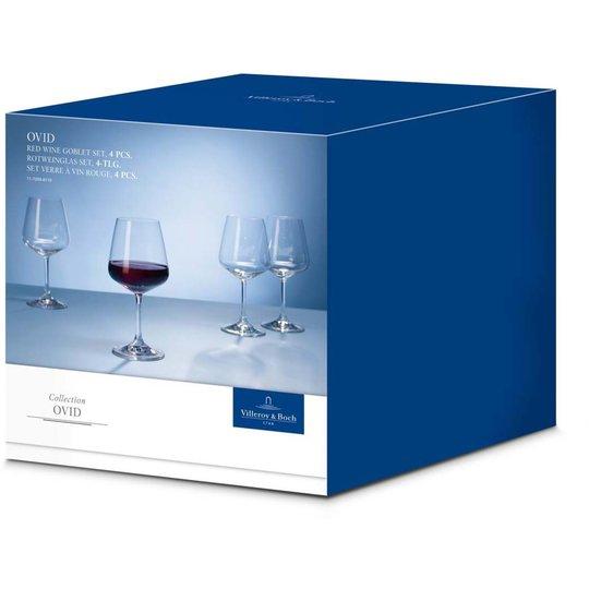Villeroy & Boch Ovid Rödvinsglas 4-pack