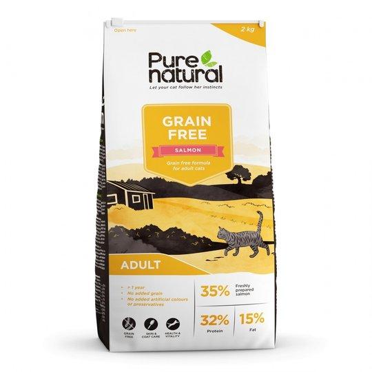 Purenatural Cat Grain Free Adult Salmon (2 kg)