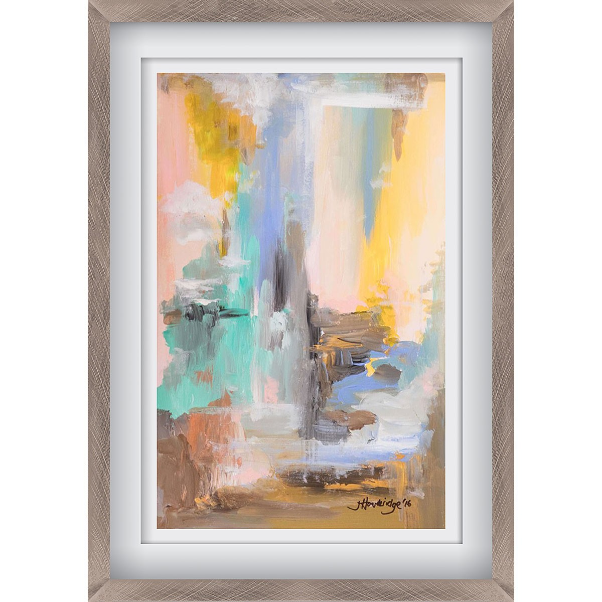 Into the Waterfall Pewter - Medium