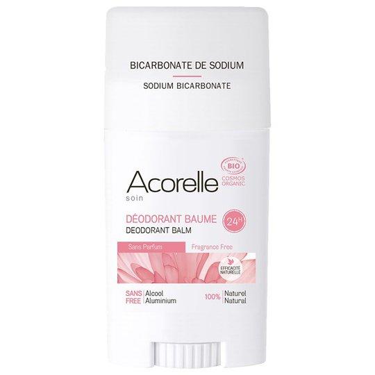 Acorelle Frangrance Free Deodorant Balm, 40 g