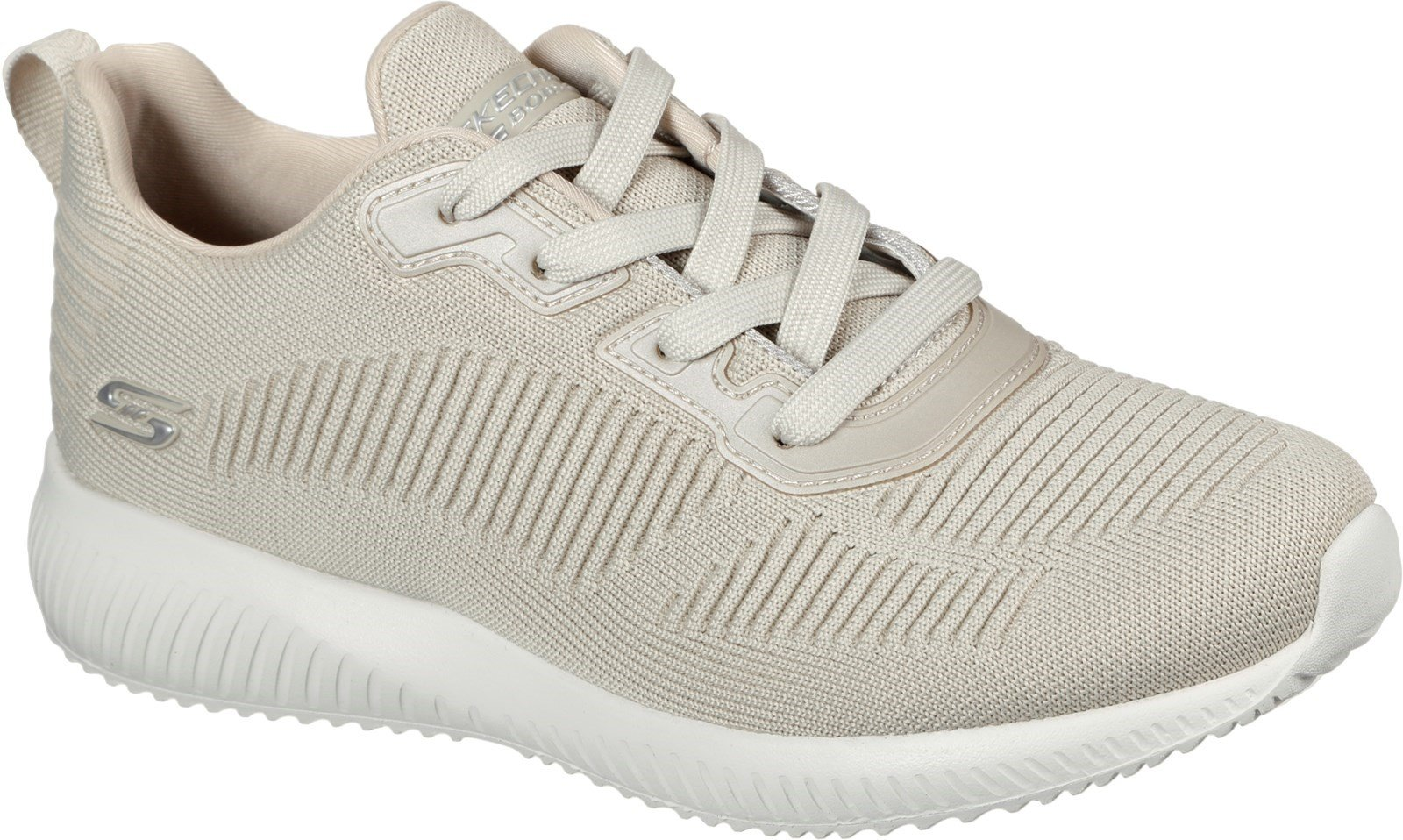 Skechers Women's Bobs Talk Sports Trainer Various Colours 31057 - Natural 3