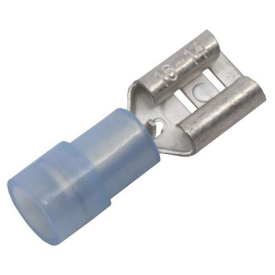 Abiko KA2507FLS-CP Kaapelikenkä lattaliitinhylsy, 10 kpl