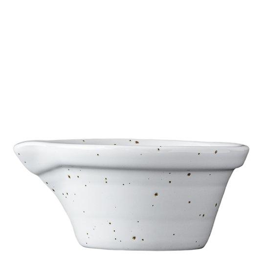 PotteryJo - Peep Spillkum 12 cm Cotton White