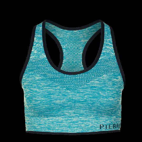 Sports Bra Medium Support, Blue Turquoise