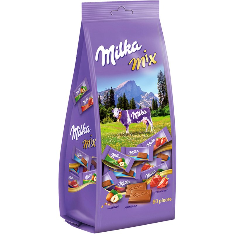 Milka Mix Travelbag - 28% rabatt
